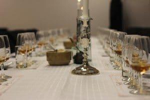 whiskyprovning dukning