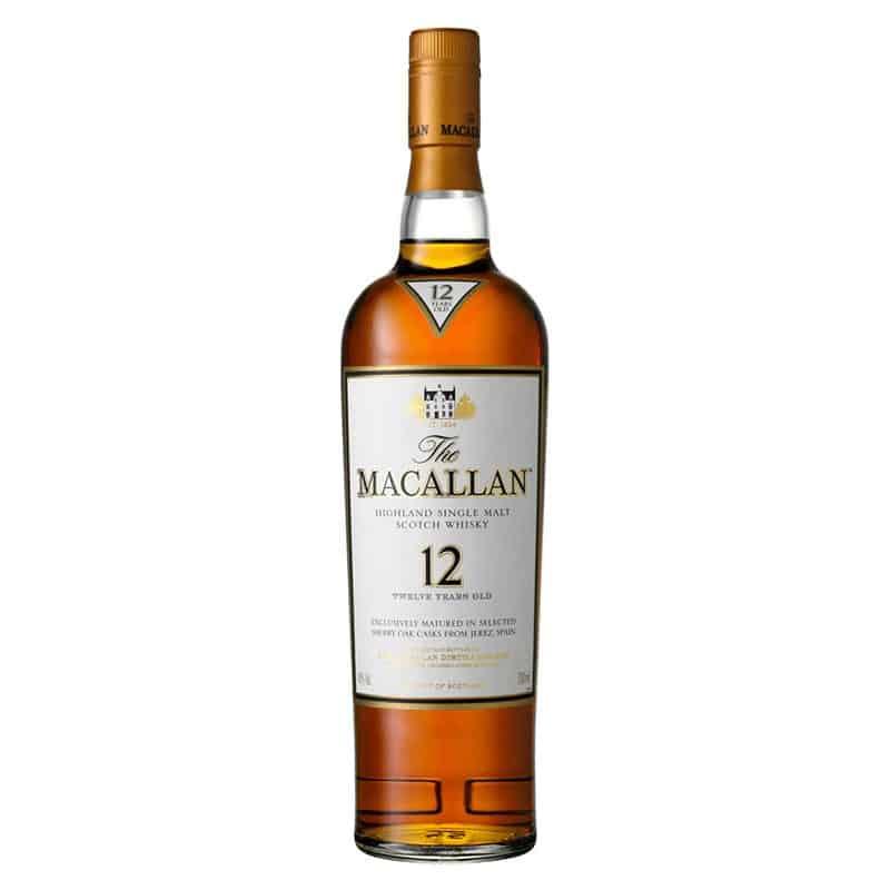 Macallan 12 yo sherry finish